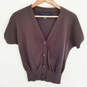 French Connection Cropped Cardigan Size M